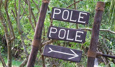 Pole Pole Sign