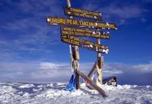 Summit Sign On Kilimanjaro