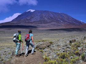 Trekking Kili